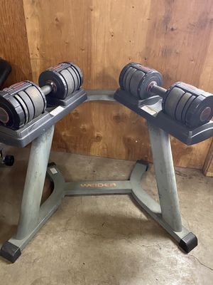 Ajustable dumbbells 💪 for Sale in Kent, WA