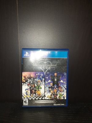Kingdom Hearts 1.5 + 2.5 for playstaion 4 ps4 for Sale in El Monte, CA