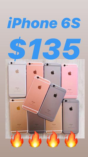 IPHONE 6S UNLOCKED ANY CARRIER EXCELLENT CONDITION WARRANTY FIRM price $135 for Sale in East Lake-Orient Park, FL