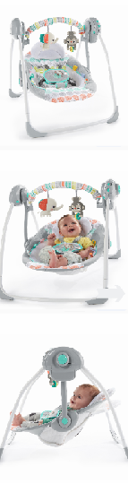 NEW Baby Swing Portable Seat Cozy Sway Infant Simple Portable Newborn Bed Sleeper Easy Comfortable Baby Gear Little One Safely Rest - *↓READ↓* for Sale in San Diego, CA