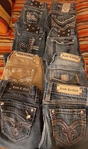 Rock revival & miss me jeans for Sale in Indianapolis, IN