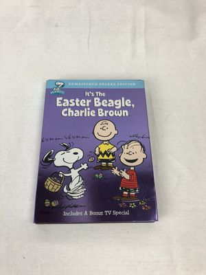 Easter Beagle Charlie Brown DVD for Sale in Wadsworth, OH