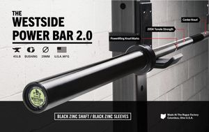 Rogue Fitness Westside Power Bar for Sale in Escondido, CA