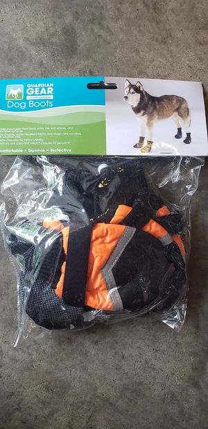 Dog boots size small for Sale in Richmond, VA
