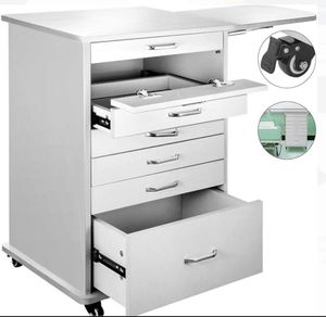 Multi Drawer Mobile Cabinet Cart Dental Medical Utility Rolling Assistant's Cart Office or Home for Sale in Beaumont, CA