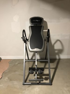 Inversion table, inverter for Sale in San Diego, CA