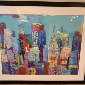 NYC Water Color Painting for Sale in Miami, FL
