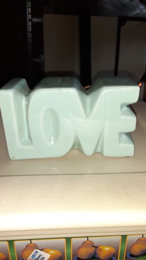 LOVE scented knick knack for Sale in Hoquiam, WA
