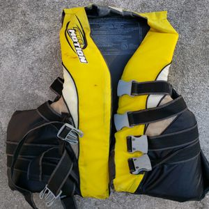 Yellow Free Motion Jet Ski Jacket large /extra large PDF for Sale in West Palm Beach, FL