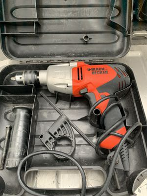 Black and decker hammer drill for Sale in Tampa, FL