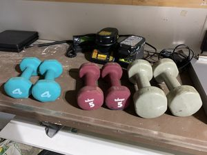 Bollinger Weights Dumbells 4LB, 5lb, 6lbs. for Sale in Northampton, PA