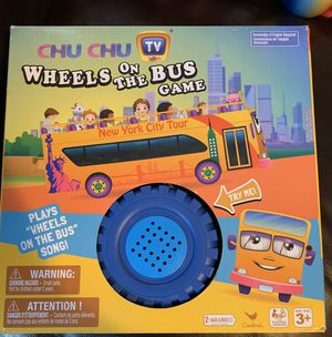 Wheels On The Bus Matching Board Game by CHU CHU TV for Sale in Colchester, CT