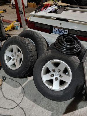 Jeep wheels for Sale in Anacortes, WA