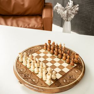 Queen's Gambit Chess Set Board and Pieces USA for Sale in Hollywood, FL