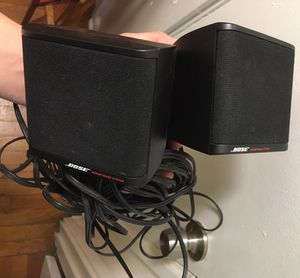 Bose Acoustimass 3 speaker set with wire wires system for Sale in Cleveland, OH