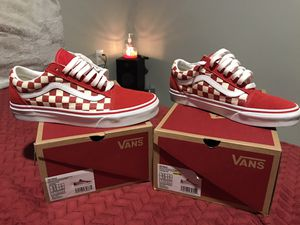red checkered vans for Sale in Des Moines, WA