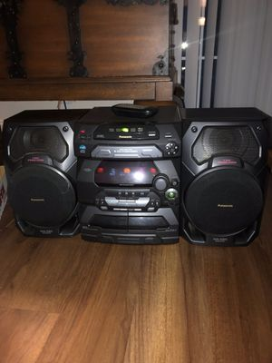 Big stereo ,CD Player , TAPE player , radio and hundreds of great CD's and Tapes! LIKE NEW ,EXCELLENT CONDITION ! for Sale in Westborough, MA