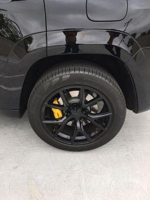 Jeep Cherokee Track hawk wheels on Pirelli tire for Sale in Fullerton, CA