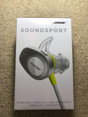 Bose Soundsport wireless earbuds for Sale in Davidsonville, MD