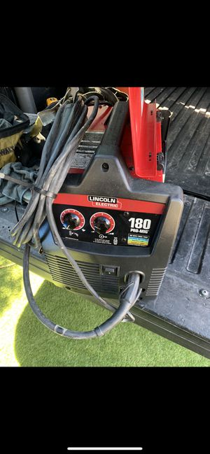 Lincoln 180 pro mig welder 220v in excellent condition for Sale in Torrance, CA