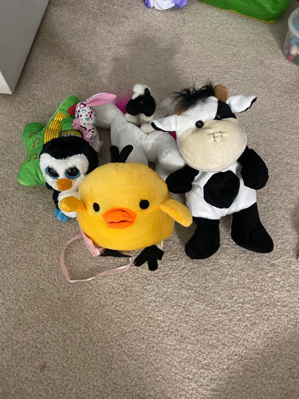 Set of 7 Plushie Soft Toys (Variety, not all shown in picture)