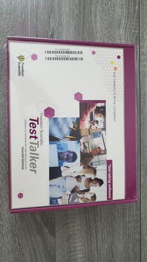 Freedom Scientific TestTalker Teacher Edition Improve test-taking skills for Sale in Lutz, FL