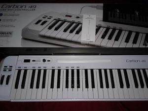 Samsung carbon 49 midi comes with Mac chord for Sale in Hillsboro Beach, FL