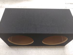 Speaker box : 12 inch dual sealed MDF box w 30 - h 14 - d 13 brand new for Sale in Bell Gardens, CA