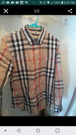 Burberry shirt for Sale in Jonesboro, GA
