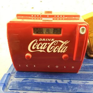 Vintage antique Coca-Cola AM/FM radio for Sale in Ontario, CA
