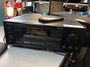 Onkyo TX SV525 5.1 channel setting 220 watt receiver for Sale in San Diego, CA