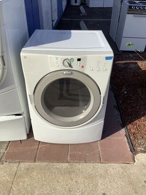 Duet Whirlpool Front Loader Dryer Low Price Preowned Appliance for Sale in Tampa, FL