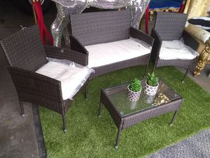 Outdoor patio furniture $225 sale Tuesday 😎 2759 Irving Blvd Dallas 75207😎 for Sale in Dallas, TX