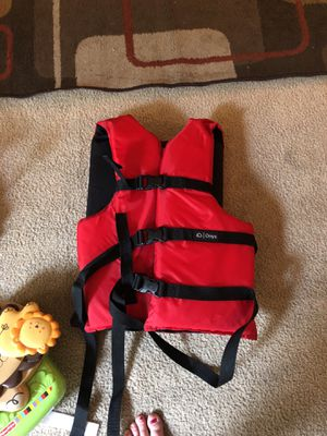 Red life jacket for Sale in Lynchburg, VA
