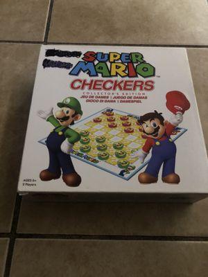 Super Mario Checkers Collector's Edition 2012 for Sale in Hayward, CA