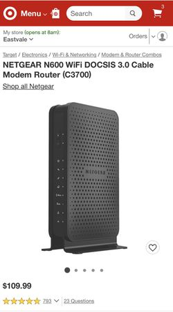 Netgear WiFi modem router for Sale in Ontario,  CA