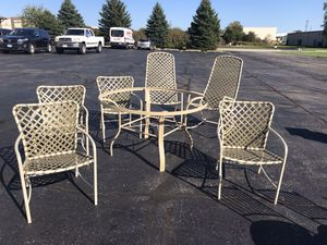 Patio Set 7 Piece for Sale in Naperville, IL