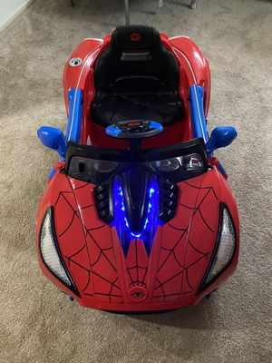 Spiderman ride on car for Sale in Annandale, VA