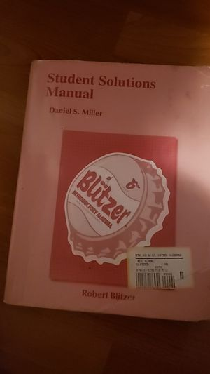 Blitzer intro to Algebra 6th edition. College. for Sale in Wilsonville, OR