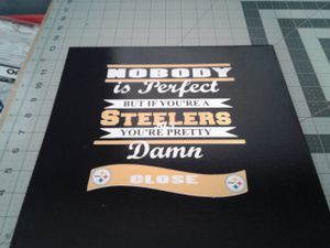 Steelers plaque for Sale in Charlotte, NC