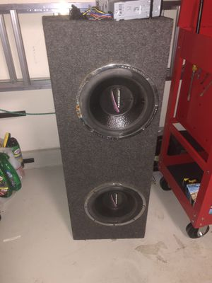 Sub with stereo for Sale in Riverside, CA