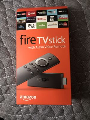Fire tv stick (Alexa remote control) for Sale in Clermont, FL