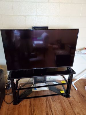 "49"" LG 4K smart TV w/ TV stand for Sale in Mililani, HI"