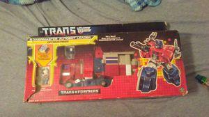 Valuable Optimus prime HASBRO collectable transformer for Sale in McDonough, GA