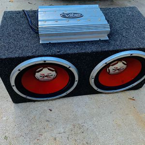 $175 No Less Firm / Sony 12s / Lanzar Amp / Sub Box for Sale in Sanger, CA