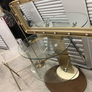 Glam Vanity Set Vintage Bronze for Sale in Hollywood, FL