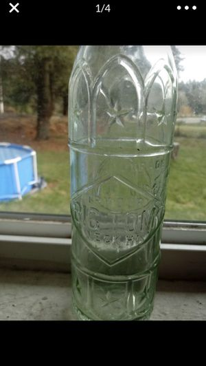 Antique Big Toms glass bottle $40 obo for Sale in Olympia, WA