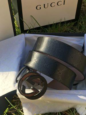 Gucci belt interlocking G for Sale in PA, US