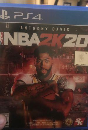 NBA 2k20 for Sale in San Antonio, TX