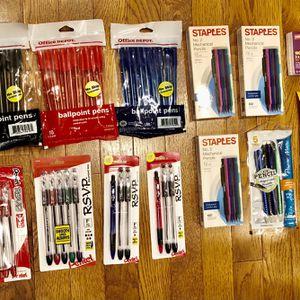 New Mechanical Pencils/Ballpoint Pens for Sale in Fairfax, VA